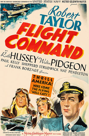 Flight Command - 1940 - Movie Poster