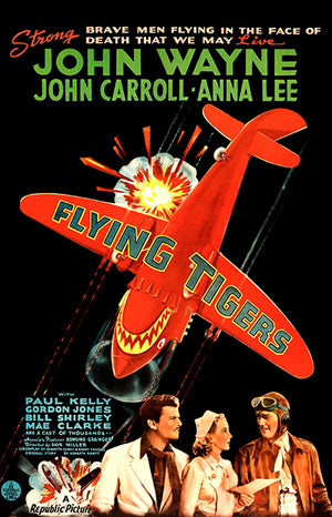 Flying Tigers - 1942 - Movie Poster Magnet