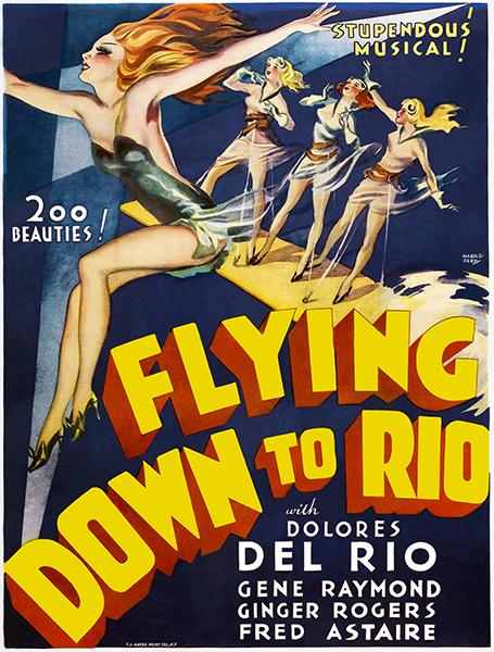 Flying Down To Rio - 1933 - Movie Poster Mug