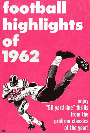 Football Highlights of 1962 - Movie Poster Magnet