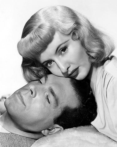 Fred MacMurray - Barbara Stanwyck - Double Indemnity - Movie Still Poster