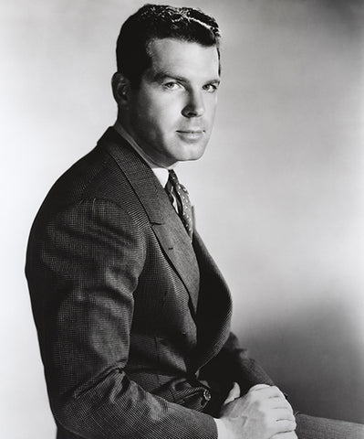 Fred MacMurray - Movie Star Portrait Poster