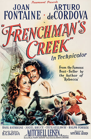 Frenchman's Creek - 1944 - Movie Poster