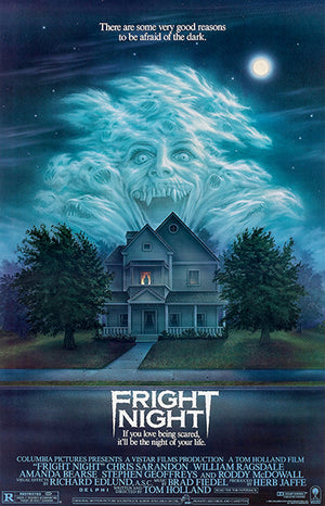 Fright Night - 1985 - Movie Poster