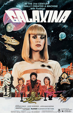 Galaxina - 1980 - Movie Poster