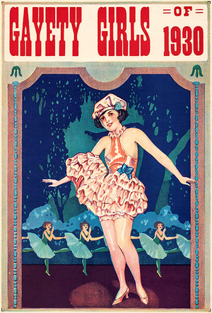 Gayety Girls Of 1930 - Vaudeville Show Magnet