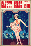 Gayety Girls Of 1930 - Vaudeville Show Poster