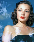 Gene Tierney - Movie Star Portrait Mug