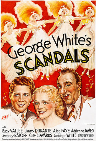 George White's Scandals - 1934 - Movie Poster