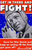 Get in There And Fight! - 1940's - World War II - Propaganda Poster