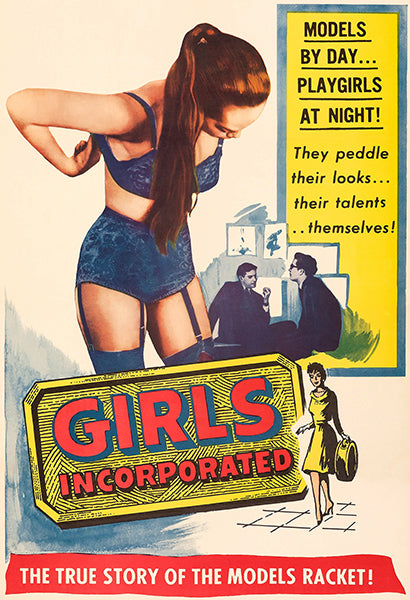Girls Incorporated - 1959 - Movie Poster