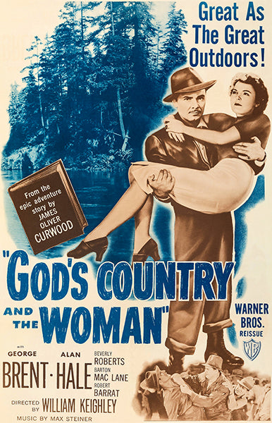 God's Country And The Woman - 1948 - Movie Poster