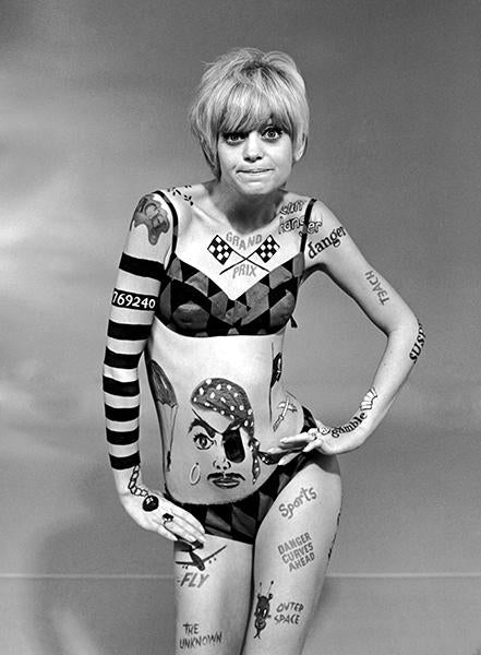 Goldie Hawn - Laugh In - TV Show Still Mug