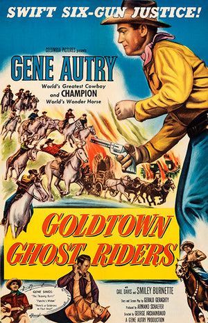 Goldtown Ghost Riders - 1953 - Movie Poster