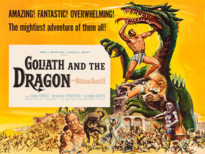 Goliath And The Dragon - 1960 - Movie Poster