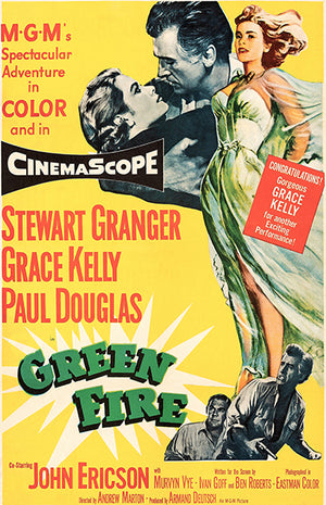 Green Fire - 1954 - Movie Poster