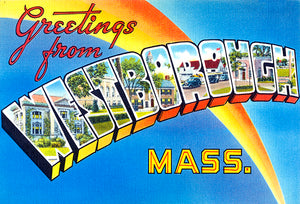 Greetings From Westborough, Massachusetts -  1930's - Vintage Postcard Mug