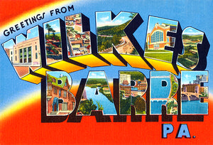 Greetings From Wilkes-Barre, Pennsylvania - 1930's - Vintage Postcard Mug