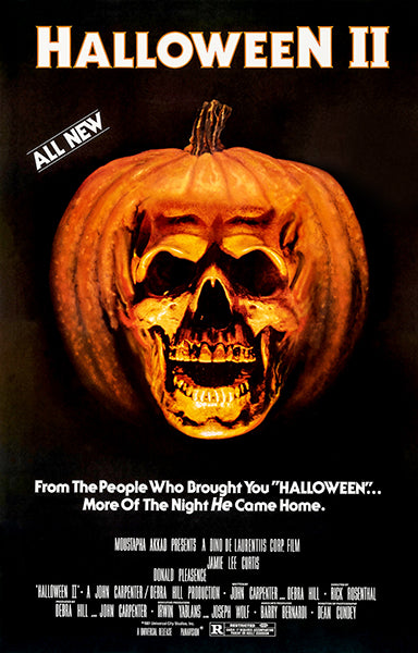 Halloween II - 1981 - Movie Poster