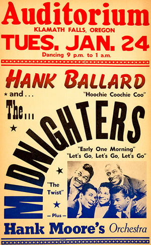 Hank Ballard And The Midnighters - 1961 - Concert Magnet