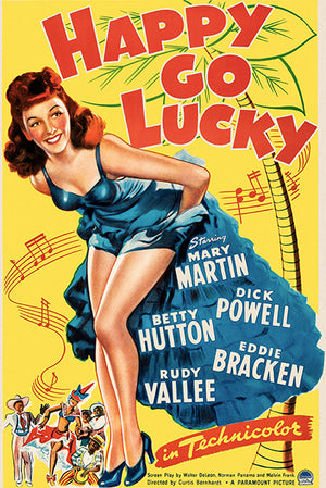 Happy Go Lucky - 1943 - Movie Poster