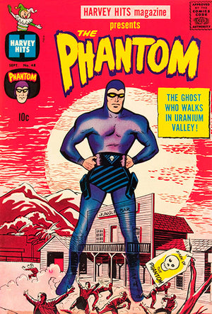 Harvey Hits #48 - The Phantom - September 1961 - Comic Book Cover Poster