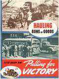 Hauling Guns Or Goods - Keep 'Em - 1940 - World War II - Propaganda Poster