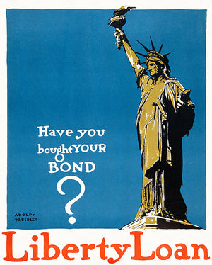 Have You Bought Your Bond - 1917 - World War I - Propaganda Magnet
