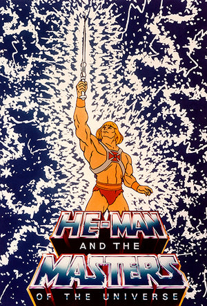 He-Man And The Masters Of The Universe - 1983 - POP Art Poster