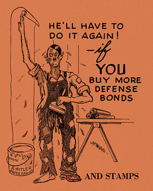 He'll Have To Do It Again! - 1940's - World War II - Propaganda Mug