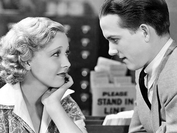 Helen Twelvetrees - Eric Linden - Young Bride - Movie Still Poster