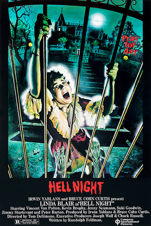Hell Night -1981 - Movie Poster