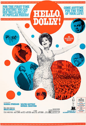 Hello Dolly! - 1969 - Movie Poster Magnet