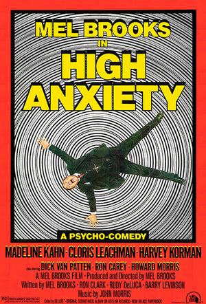 High Anxiety - 1977 - Movie Poster