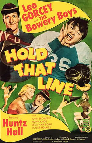 Hold That Line - 1952 - Movie Poster