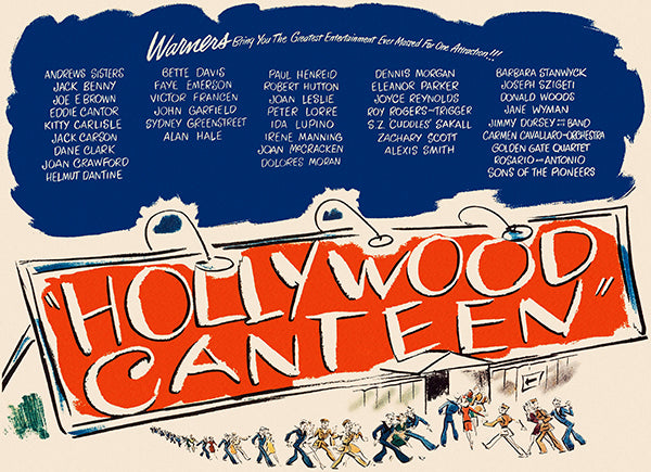 Hollywood Canteen - 1944 - Movie Poster