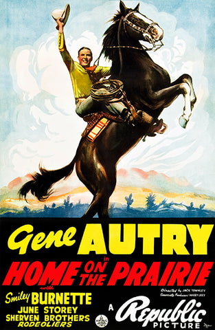 Home On The Prairie - 1939 - Movie Poster
