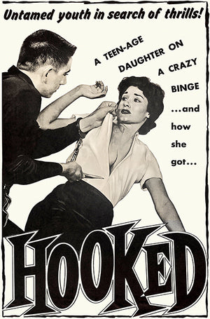 Hooked - 1957 - Movie Poster Magnet