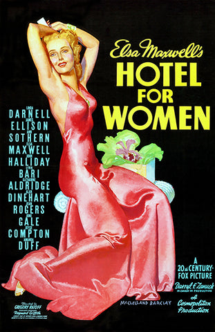 Hotel For Women - 1939 - Movie Poster