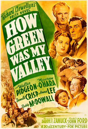 How Green Was My Valley - 1941 - Movie Poster Magnet