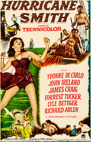 Hurricane Smith - 1952 - Movie Poster