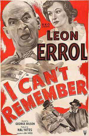 I Can't Remember - 1949 - Movie Poster