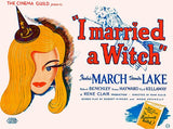 I Married A Witch - 1942 - Movie Poster Mug