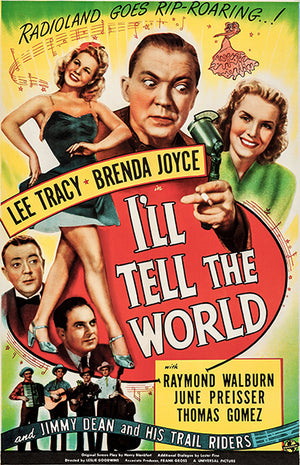 I'll Tell The World - 1945 - Movie Poster
