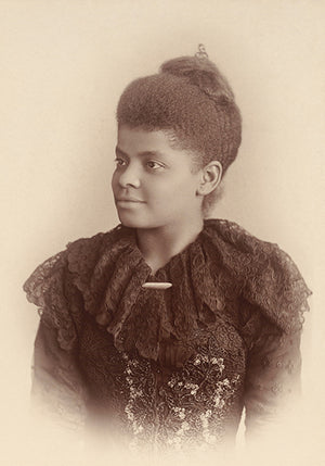Ida B. Wells-Barnett - NAACP Co-Founder - Portrait Poster
