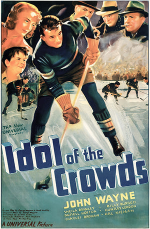 Idol Of The Crowds - 1937 - Movie Poster Magnet