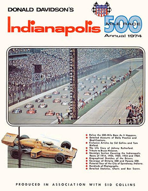 Indianapolis 500 - 1974 Annual - Cover Magnet