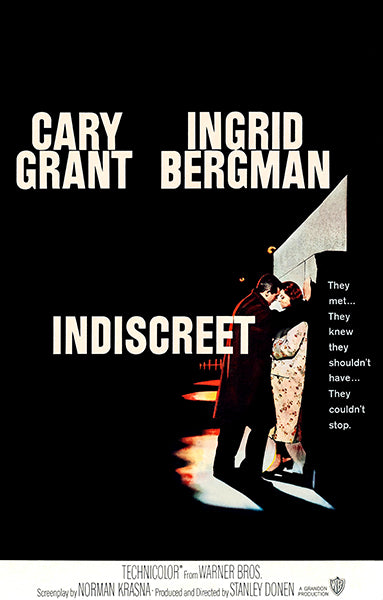 Indiscreet - 1958 - Movie Poster