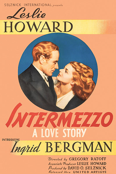 Intermezzo - 1939 - Movie Poster