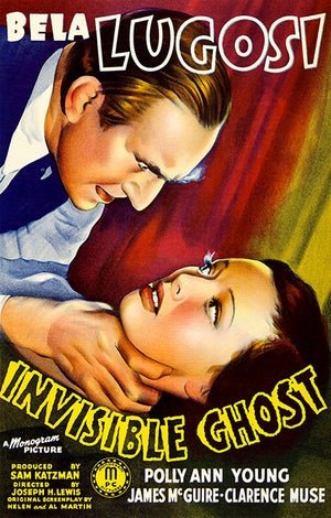 Invisible Ghost - 1941 - Movie Poster